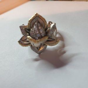 Barbara Bixby lotus flower ring 7